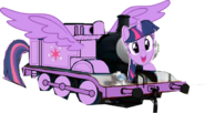 Princess Twilight as a Thomas character