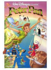 Sora Meets Peter Pan Poster