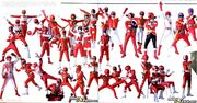All Red Rangers