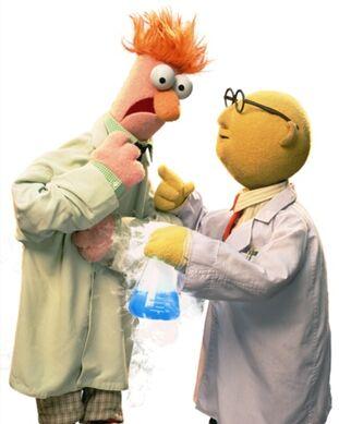 Dr Bunsen Honeydew and Beaker  Poohs Adventures Wiki  FANDOM