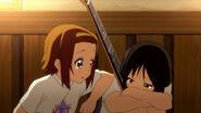 Ritsu with Mio