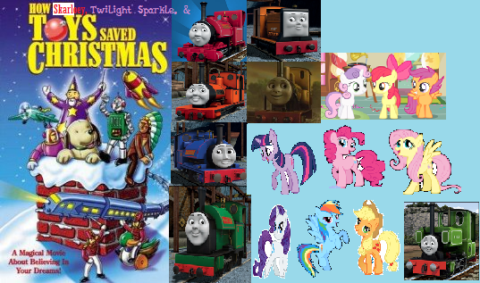 how skarloey twilight sparkle and the toys saved christmas poster - The Toy That Saved Christmas