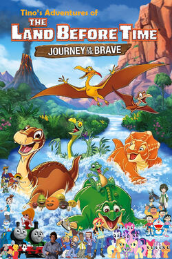 Tino's Adventures of The Land Before Time XIV Poster