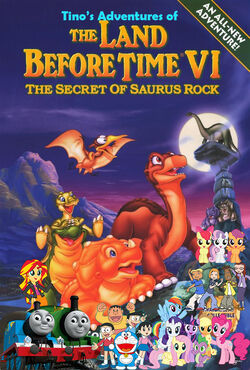 Tino's Adventures of The Land Before Time VI (Redo) Poster