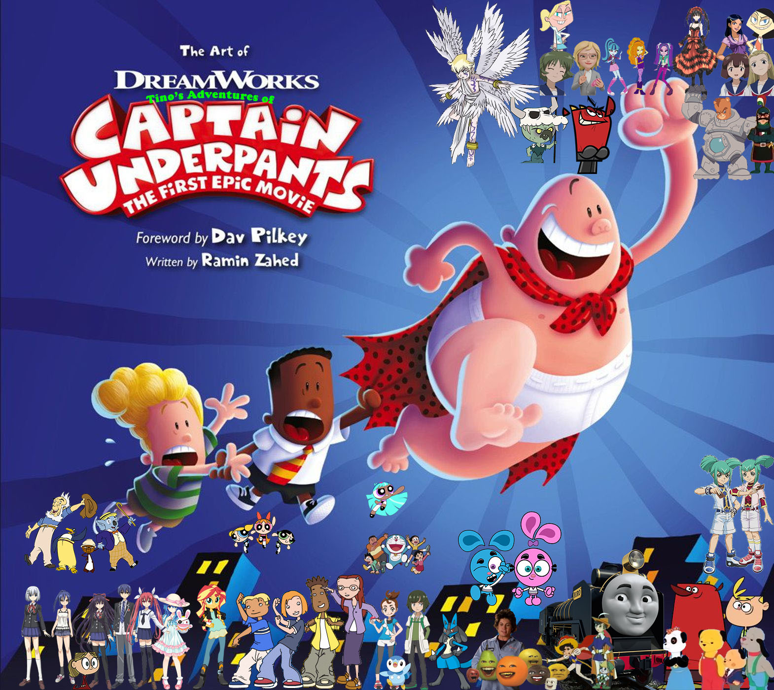 Tino S Adventures Of Captain Underpants The First Epic