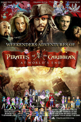 Weekenders Adventures of Pirates of the Caribbean Poster 3