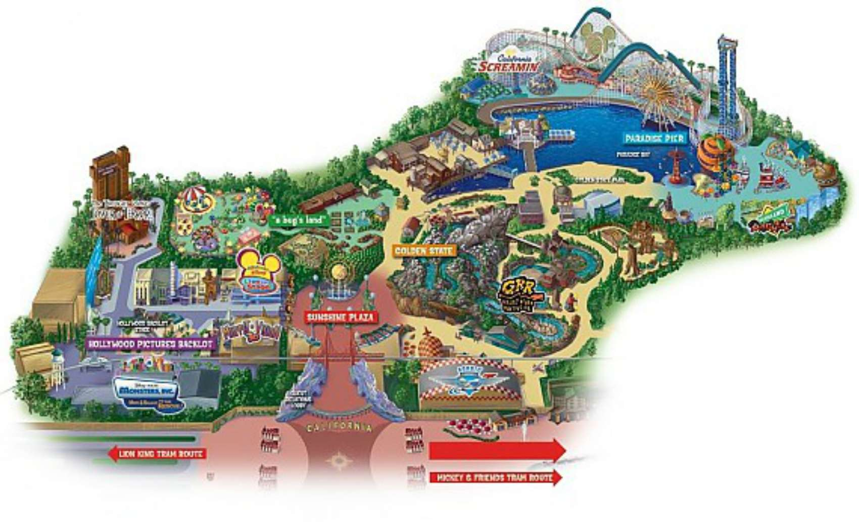 Image Disneys California Adventurejpg Poohs Adventures Wiki - Disney adventure