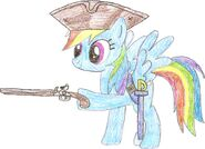 Rainbow Dash Sparrow