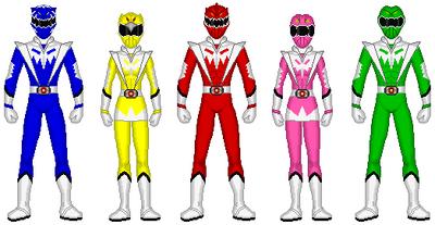 Mythic Rainbow Rangers (First)