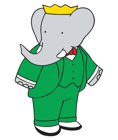 Image result for babar the elephant pictures