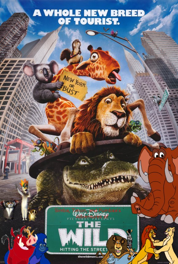 Simba, Timon, and Pumbaa's Adventures of The Wild poster