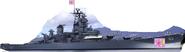 USS Missouri with T&TS's team logo
