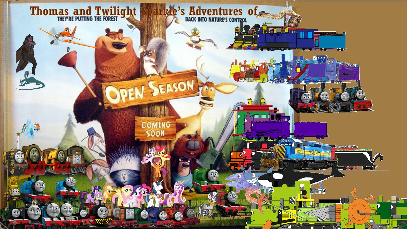 Thomas And Twilight Sparkle S Adventures Of Open Season