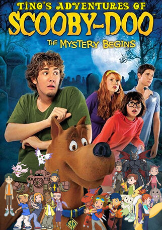 Tino's Adventures of Scooby-Doo! The Mystery Begins Poster (Redo)