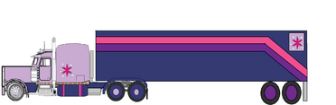 Twilight's war 18-wheeler