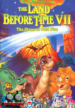 Tino's Adventures of The Land Before Time VII Poster