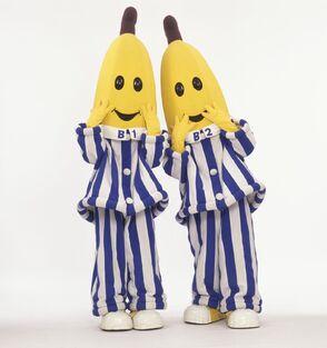 Bananas-in-pyjamas