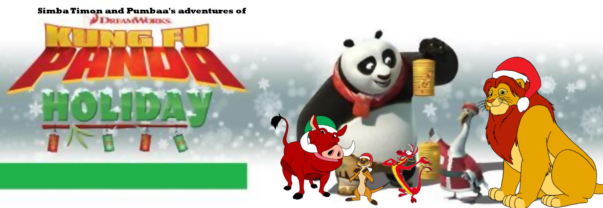 Image - Simba Timon and Pumbaa's adventures of Kung Fu Panda ...