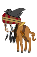 Tonto as MLP charcter