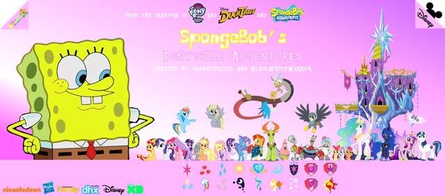 File:SpongeBob's Ponyville Adventure Poster 2.png