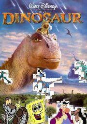 Spongebob and Friends meet Dinosaur