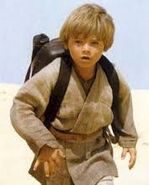 Anakin Skywalker as a Kid