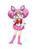 Rini A.K.A Sailor Mini Moon