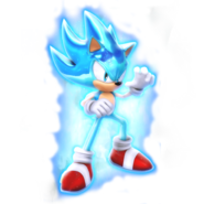 What if sonic as super saiyan blue by nibroc rock-daqfw44