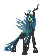 Chrysalis with her sword
