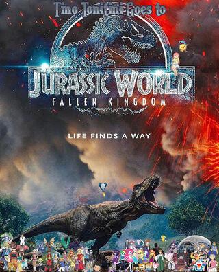Tino Tonitini Goes to Jurassic World II Poster