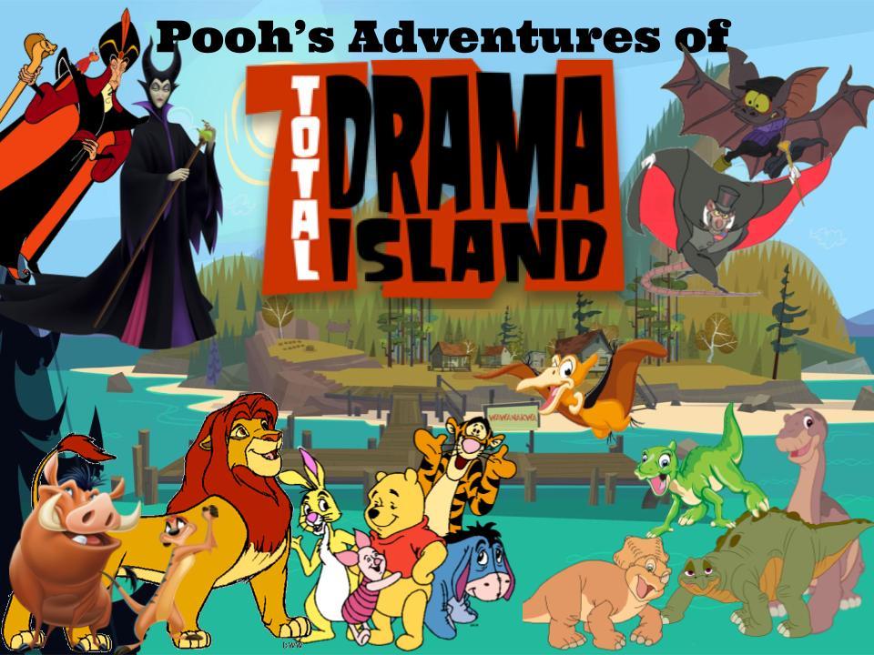 poohs adventures of total drama island poohs
