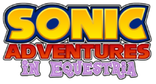 Sonic Adventures in Equestria Logo
