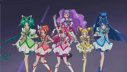 The Precure 5 team