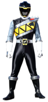 Dino Charge Black Ranger