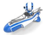 59895-robot-in-rocket-vehicle-waving