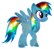 Galaxy rainbow dash vector better one in desc by minkystar-d79j4vp