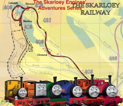 The Skarloey Engines' Adventures series logo