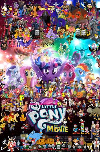 Pooh's Adventures of My Little Pony- The Movie (2017) (redo2)