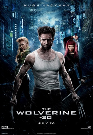 The Wolverine posterUS