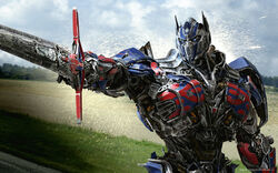 Optimus prime in transformers 4 age of extinction-wide