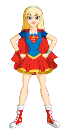 Supergirl Pose DCSHG Transparent