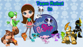 Team Robot In Littlest Pet Shop