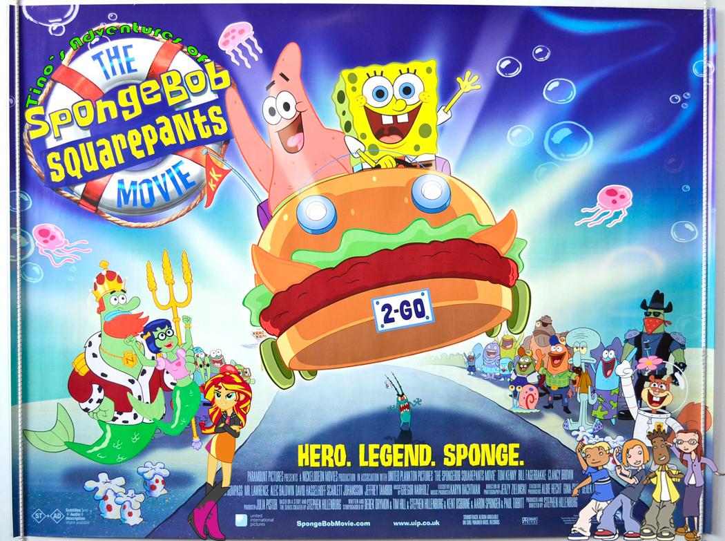 Tino's Adventures of The SpongeBob SquarePants Movie | Pooh's