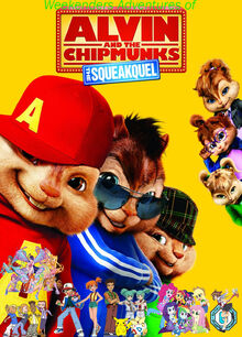 Weekenders Adventures of Alvin and the Chipmunks- The Squeakquel