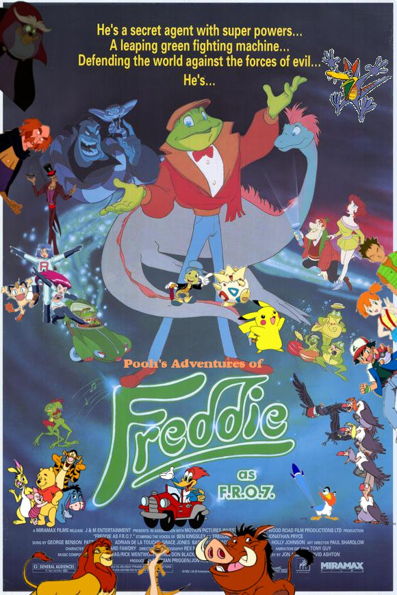 Pooh's Adventures of Freddie as F.R.O.7 Poster