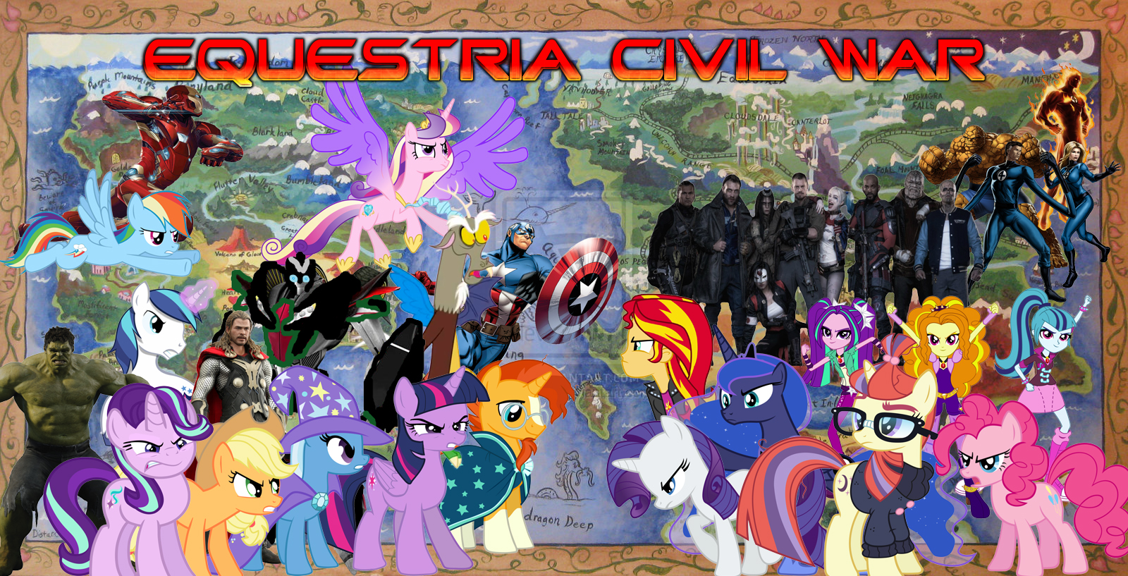 Equestria Civil War Poohs Adventures Wiki Fandom Powered By Wikia