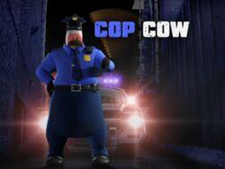Back at the Barnyard Cop Cow