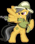 Daring do dual welding her guns-