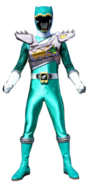 Dino Charge Green Ranger in Dino Drive