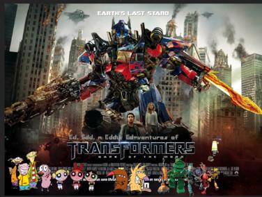 Ed, Edd, n Eddy's Ed-ventures of Transformers III